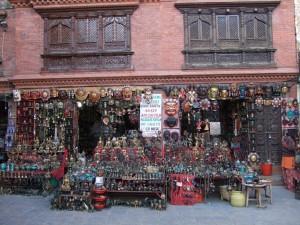 A-shop-at-the-Monkey-Temple-Kathmandu